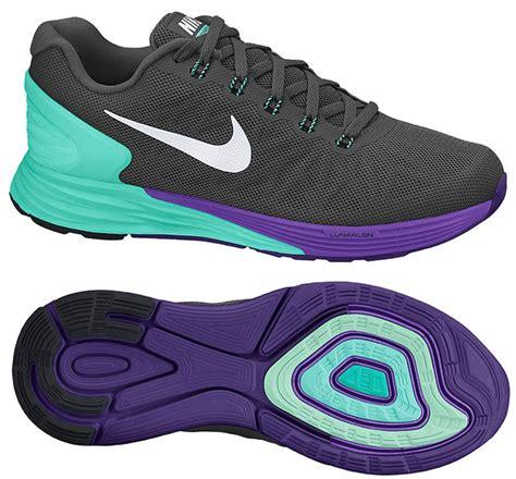 nike black and purple running shoes nike running shoe lunarglide 6 black turquoise purple