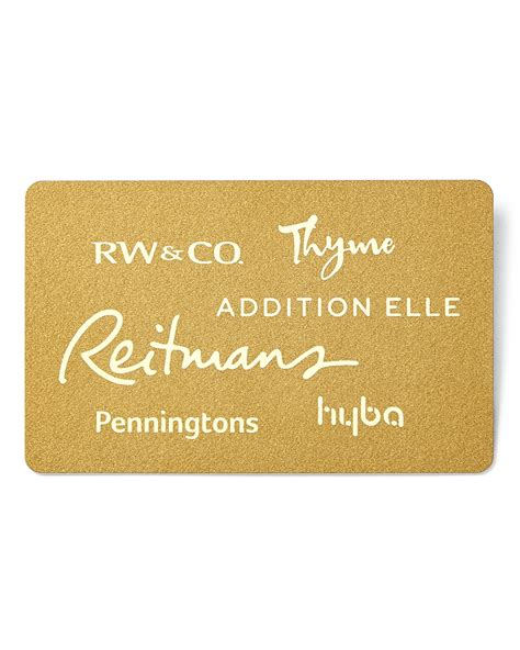 Thyme Maternity Gift Card - reitmans canada gift card what s your style thyme ca