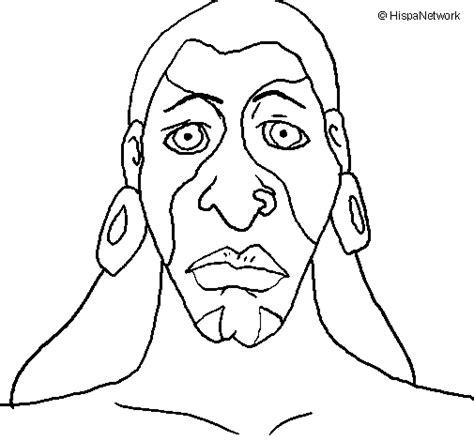 mayas imagenes dibujos dibujo de hombre maya para colorear dibujos net