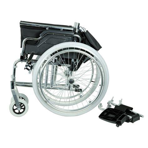 sedie a rotelle pieghevoli prezzi sedia a rotelle carrozzina pieghevole adulto royal cromata