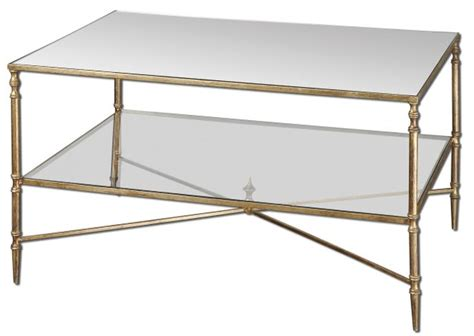 glass and metal coffee table to bring a significant change