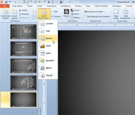 Creating A Product Catalog In Powerpoint 2010 Insert Template Powerpoint