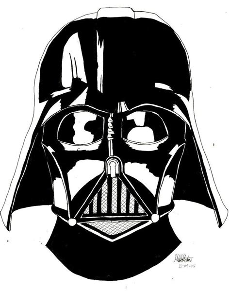 printable vader mask darth vader helmet coloring page coloring home
