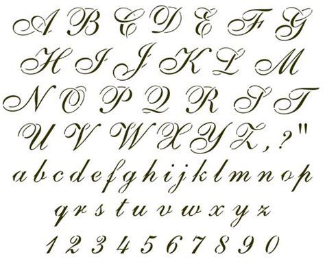 lettere corsive cursive letters dr