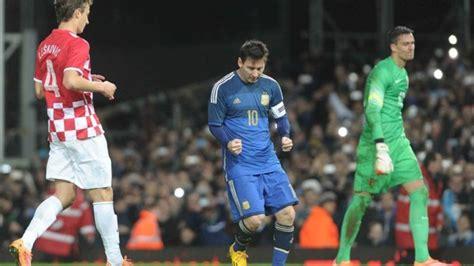 Goles Argentina Croacia Argentina Le Gan 243 A Croacia Taringa