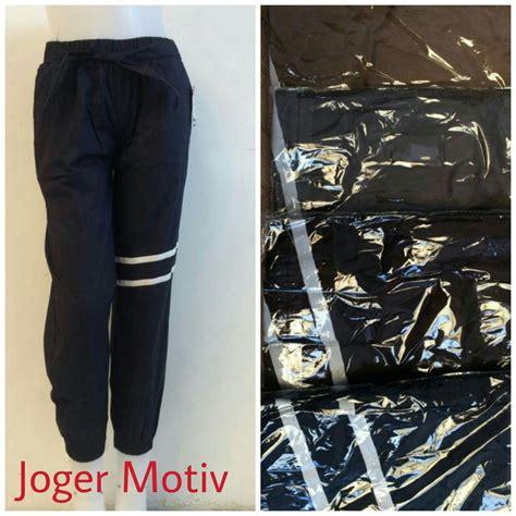 Joger Denim Murah Berkualitas kulakan celana joger dewasa motiv terbaru modis murah 25ribuan peluang usaha grosir baju anak