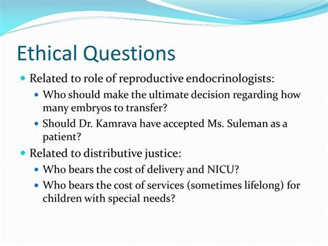 ppt ethical problems in the nadya suleman powerpoint presentation id 565006