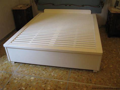 letti contenitori in legno letto contenitore in legno massello dormicisu