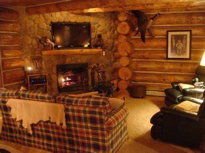 brethren mi cabin rentals custom log cabin in the of the manist vrbo
