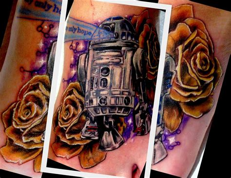 rose tattoo comics tattoos comic book r2d2 foot