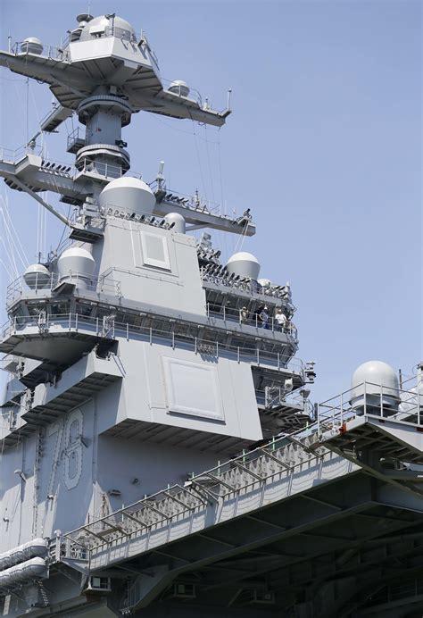 gerald ford class gerald r ford class aircraft carrier cvn us navy