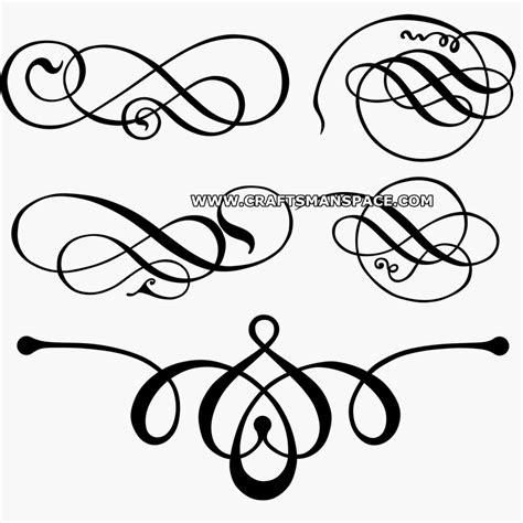 decorative line scroll ornamental clipart scroll pencil and in color ornamental