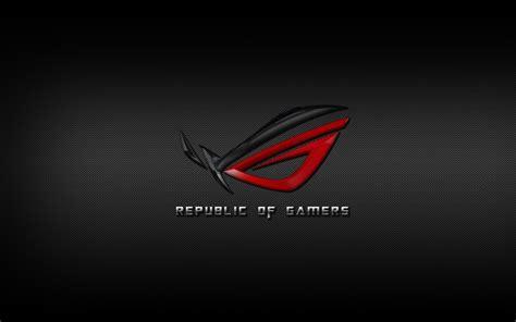 wallpaper asus rog android asus rog republic of gamers carbon fiber by pelu85 on