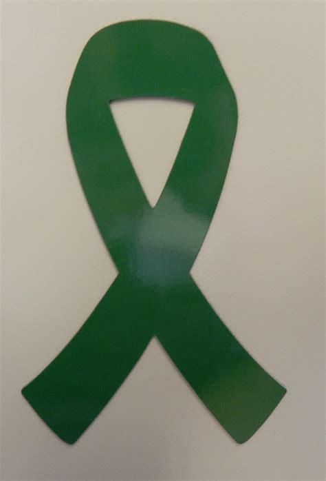 Green Ribbon Kidney Cancer Lymphoma Awareness Refrigerator