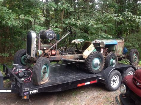 knickerbocker doodlebug 1930 31 2 model a ford doodle bug farm tractor rat rod