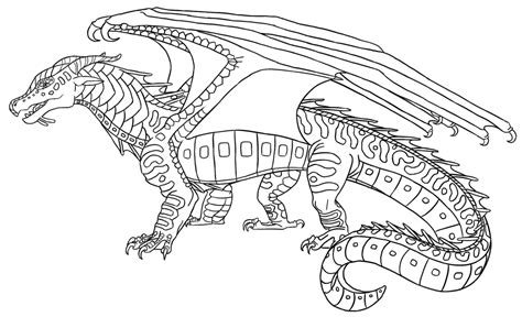 wings of fire sandwing dragon coloring pages wings best