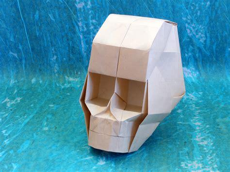 Origami Skull 3d - skull hojyo takashi model origami skull with 3d eye