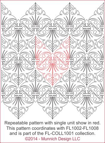 pattern part in french munnich design quilt recipes digital quilting pattern