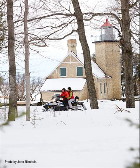 Door County Snowmobile Trails by Door County Offers Snowmobiling Bay Shore Innbay