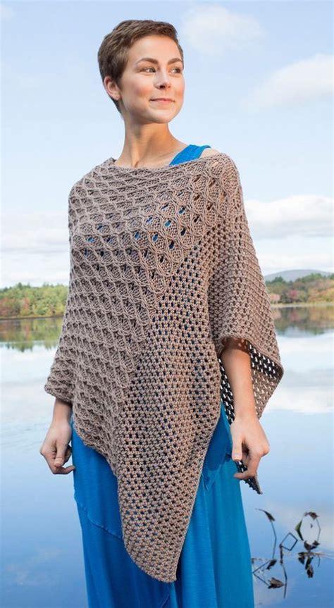 knitting pattern for poncho knitting pattern for scarlet sage poncho knit