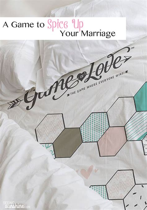 games to spice up the bedroom a game to spice up your marriage seeing sunshine