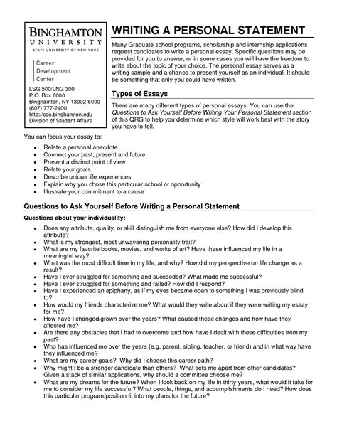 9 personal statement for graduate school examples sql print