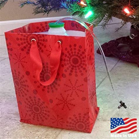 christmas tree watering present santas secret gift tree waterer original top import it all