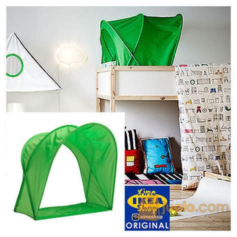 Tenda Anak Ikea ikea sufflett tenda tempat tidur hijau tangerang jualo