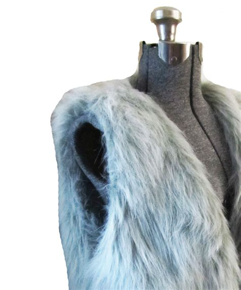 sewing pattern gilet winter faux fur gilet vest sewing projects