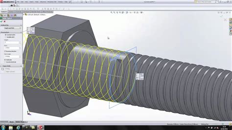 solidworks tutorial bolt solidworks modelling of m10 bolt a simple demo to start