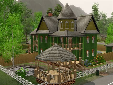 Sims 3 Backyard Ideas by Sims 3 House Garden Style House Interior