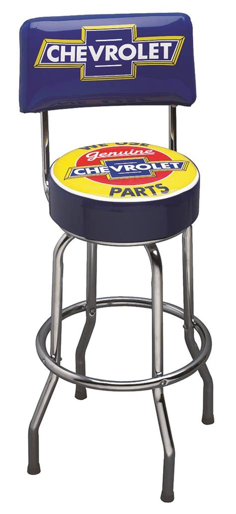 Ford Racing Bar Stool by Ford Chevy Bar Stools