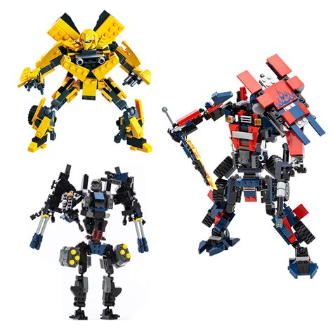 Transformers Autobots Optimus Prime Bumblebee Figure popular lego transformers buy cheap lego transformers lots from china lego transformers