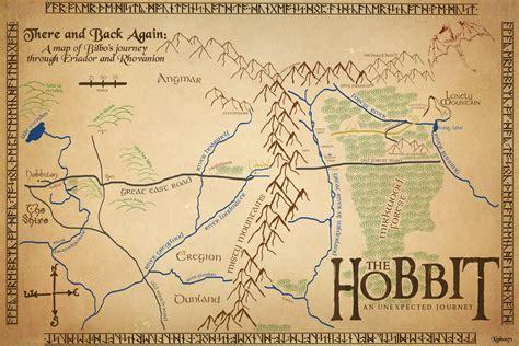 the hobbit interactive map the hobbit map by xiphos71 on deviantart