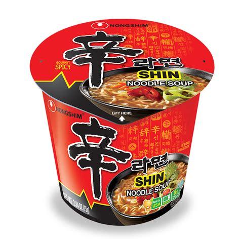Nongshim Shinramyun Cup Noodle Soup shin cup noodles instant noodle soup nongshim usa nongshim usa