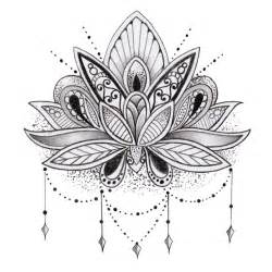 Lotus Design Sets Lotus Flower Temporary Tattoos