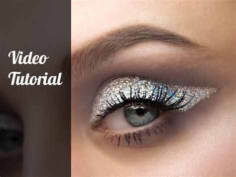 Nyx Glitter Eyeliner tutorial glitter eyeliner with nyx cosmetics