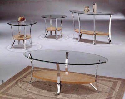glass metal modern coffee table set wnatural wood shelf
