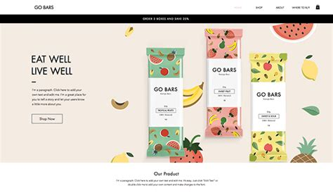 Online Store Website Templates Wix Wix Website Templates For Sale