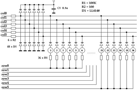 layout and physical design guidelines for capacitive sensing quot piano quot with rtos pic24