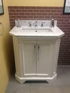 allen roth delancy 31 quot vanity lowes carrara marble top