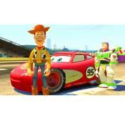 CARS 2 Flash McQueen Avec WOODY Et BUZZ L&233clair De TOY