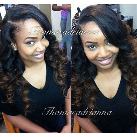 do people with long hair get sew ins celebrity sew in hairstyles black women liked on