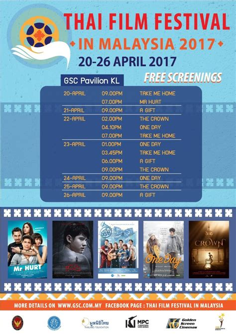 film x malaysia thai film festival 2017 gsc pavilion kl 1 utama mid