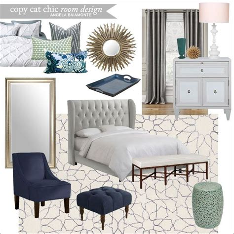 A Luxe Navy Master Bedroom For 3 943 Angela Baiamonte Navy And Gray Bedroom