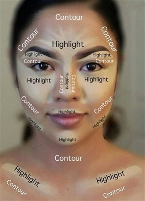 where do you put your makeup on diy bronzer cream magic of contouring at home with only 2