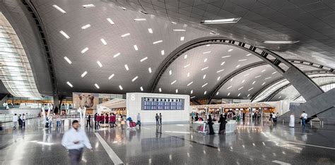 wallpaper design qatar hamad international airport passenger terminal complex