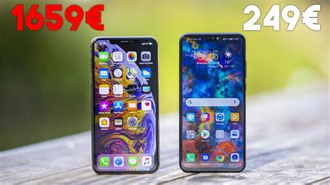 iphone xs max vs honor 8x