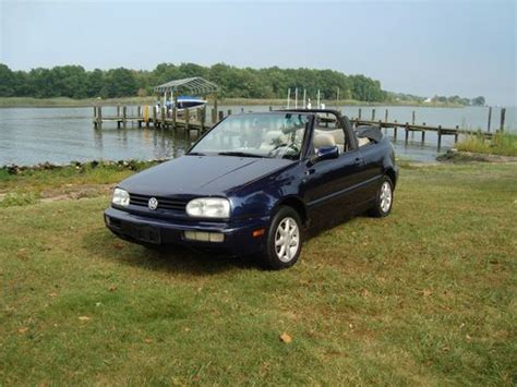 airbag deployment 1996 volkswagen cabriolet auto manual find used no reserve 1996 vw cabrio 2 0l 5 spd manual fun gas saver in middle river