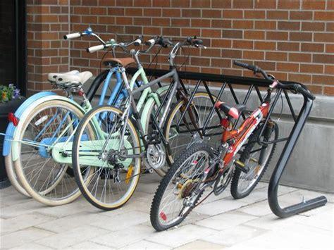 Cora Bike Racks Canada racks in use cora canada